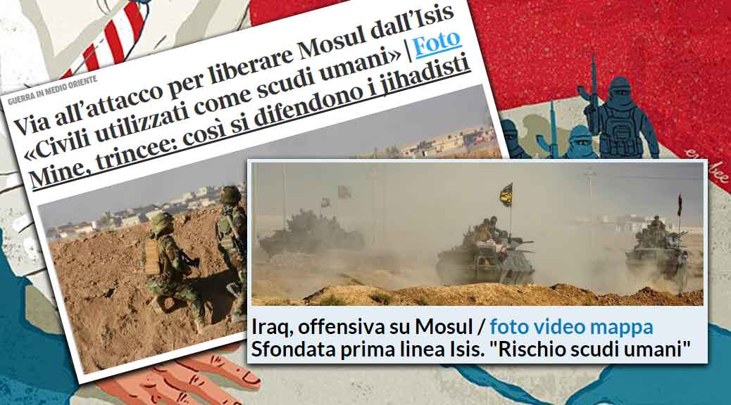 Scudi umani in Siria: i giornaloni assolvono l'Occidente, ma non la Russia