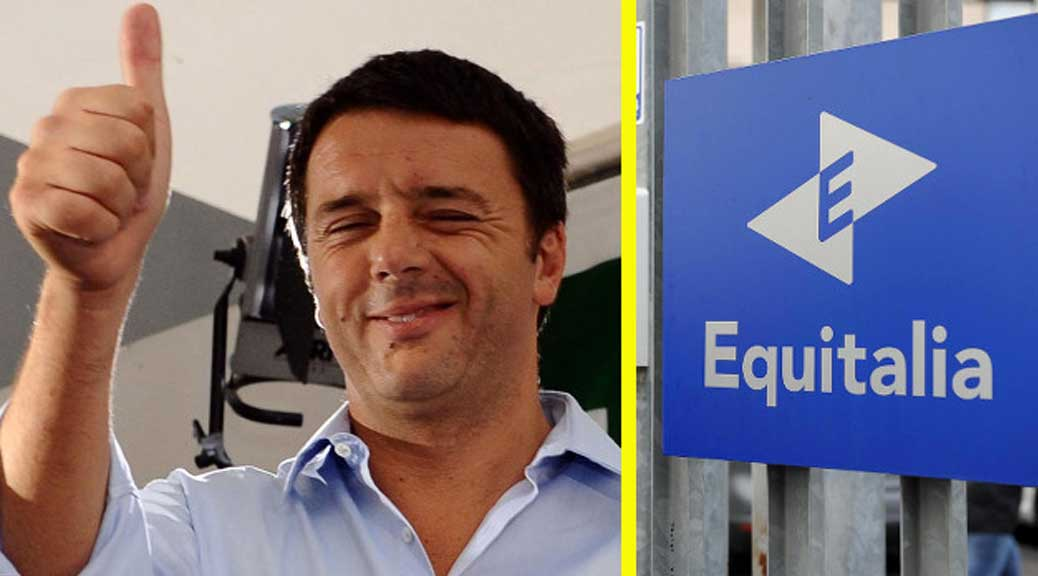 Equitalia, Renzi getta la maschera: 'Non ci sarà nessun condono fiscale'