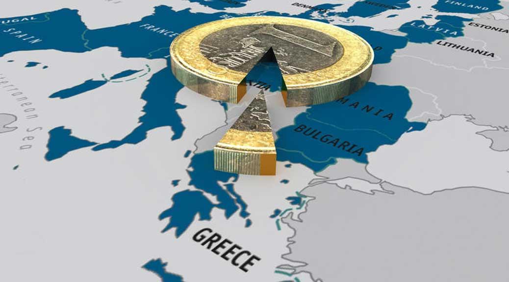La produzione dell'Europa del Sud ha iniziato a declinare con l'adozione dell'euro