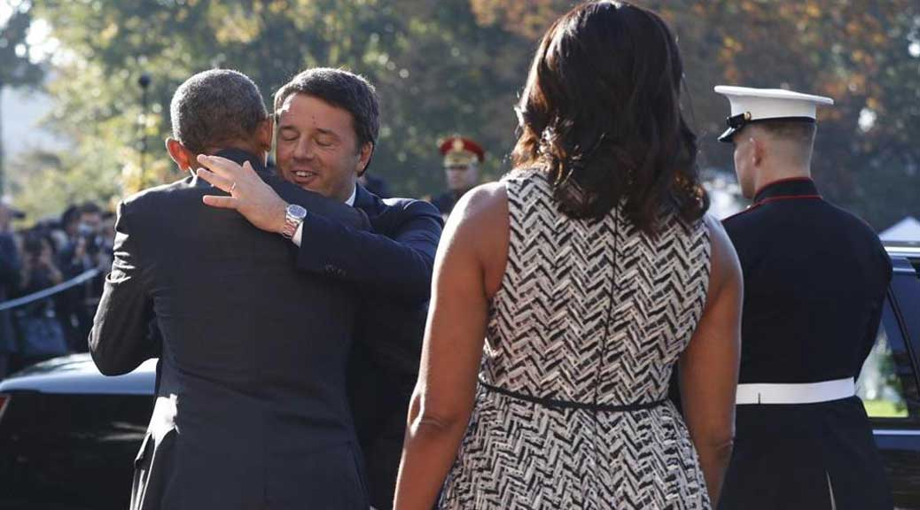 Svelato il mistero: ecco perché Renzi è andato a cena da Obama