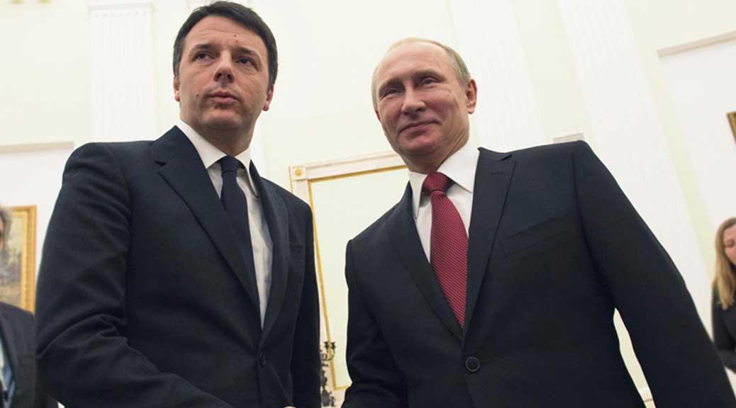 Putin telefona a Renzi e offre aiuti per il terremoto