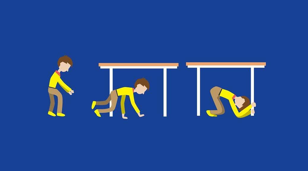 Ecco cosa bisogna fare in caso di terremoto