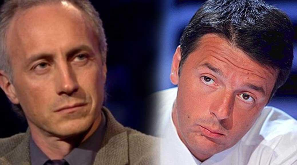 Travaglio: 'Renzi un piccolo provinciale sceso a Roma con la sua corte e ha preso il Governo'