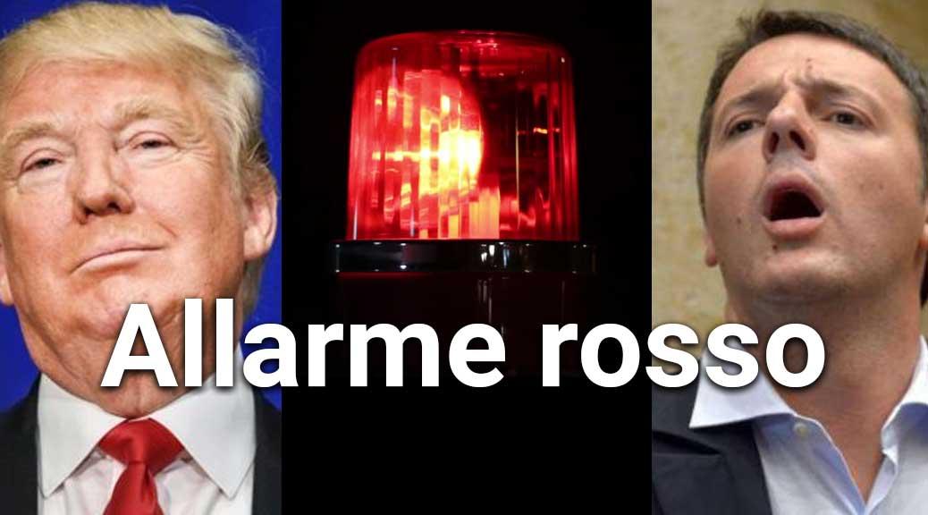 La vittoria di Trump e l'Italia: allarme rosso per Renzi