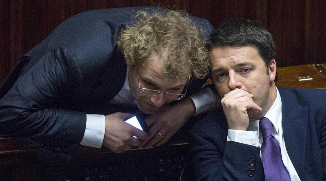 Notizia censurata: hanno indagato Luca Lotti, il braccio destro di Renzi