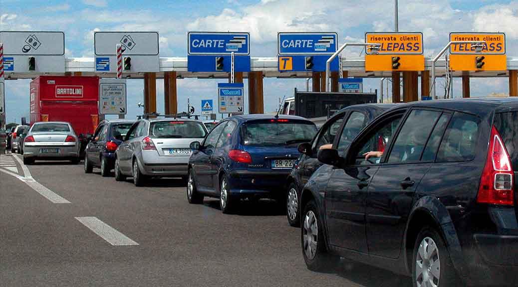 Dal primo gennaio aumentano i pedaggi autostradali