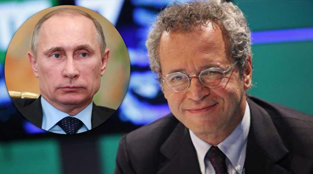 Enrico Mentana: 'Putin trionfatore assoluto del 2016'