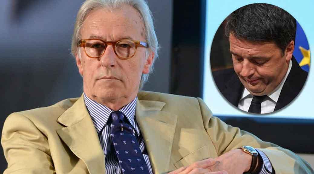 Vittorio Feltri: 'Renzi è fuori come un balcone, non ha i presupposti per vincere'