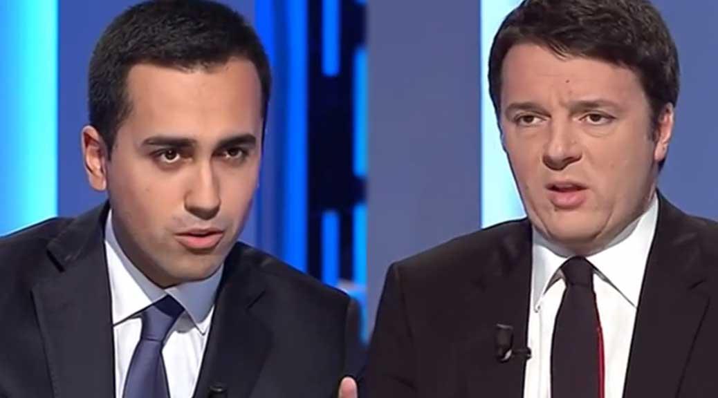 Di Maio a Renzi: 'Faccia chiarezza sulle donazioni di Romeo' #RenziVuotaIlSacco