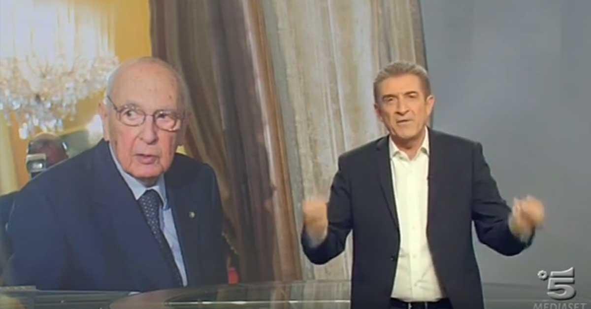 'Ma quale Paese civile?' Ezio Greggio ridicolizza Napolitano