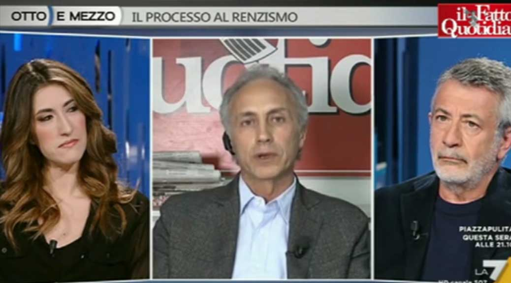 Consip Travaglio: 'Dopo una settimana di notizie sulle indagini, i colpevoli sono i magistrati e non i ladri'