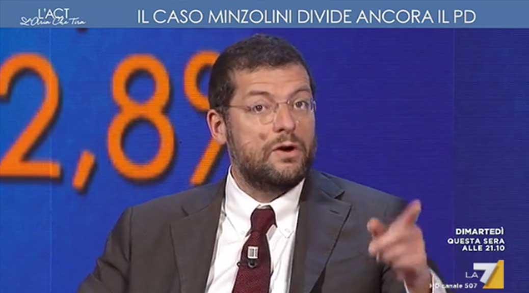 Andrea Romano (PD): 'Di Maio non può definire eversivo il voto del Senato'