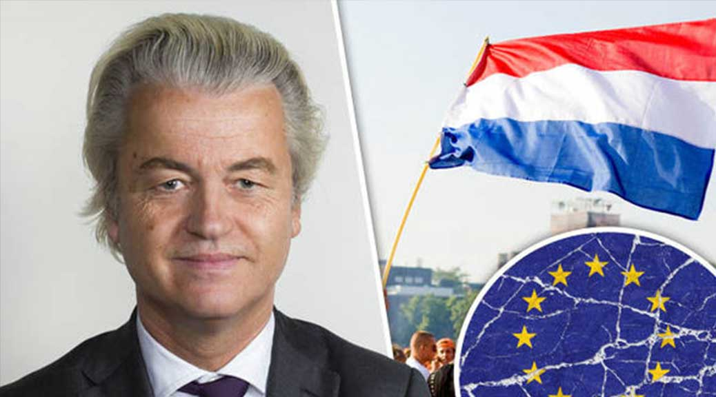 Elezioni Olanda, Geert Wilders: 'Se vinco l'Unione Europea sparirà'
