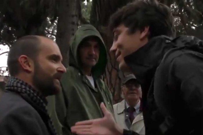 Orfini visita la tomba di Gramsci, studente lo contesta: 'Lasciatelo in pace, Pd ha svenduto il comunismo e i diritti dei lavoratori'