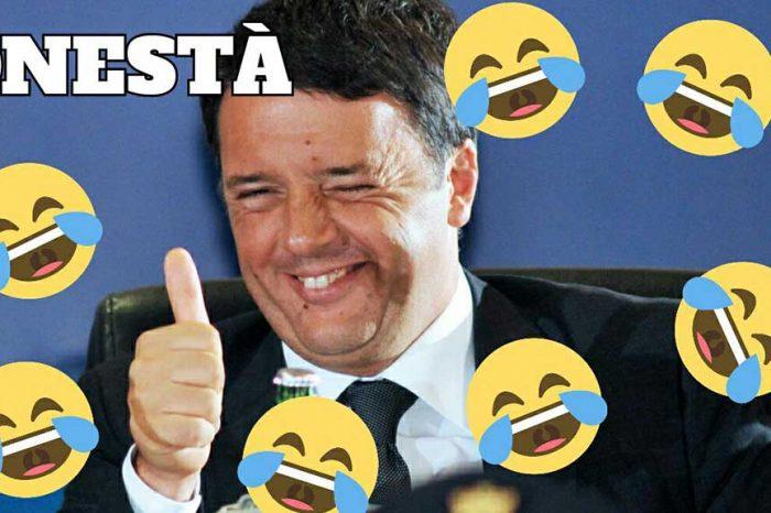 Renzi a Porta a Porta: 'Io rivendico la parola onestà' Matte'... #FacceRide