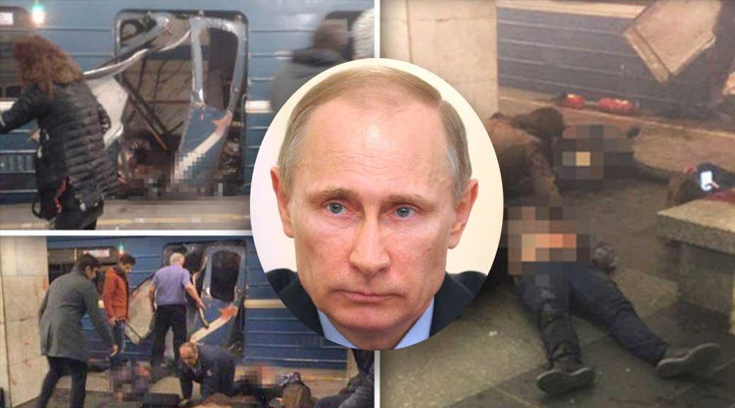 Attentato San Pietroburgo, Giulietto Chiesa: 'È contro Putin, in Russia sta esplodendo una rivoluzione colorata'