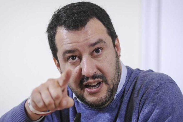 Immigrazione clandestina, Salvini: 'Denuncio il presidente del Consiglio'