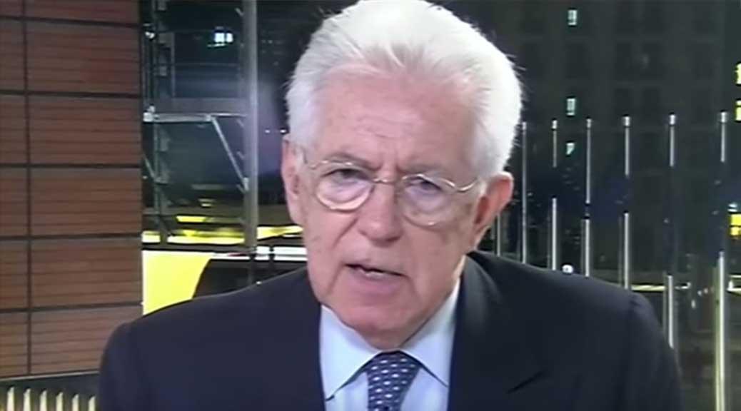 Mario Monti: 'Se la UE sarà distrutta i nostri figli avranno un destino miserevole'
