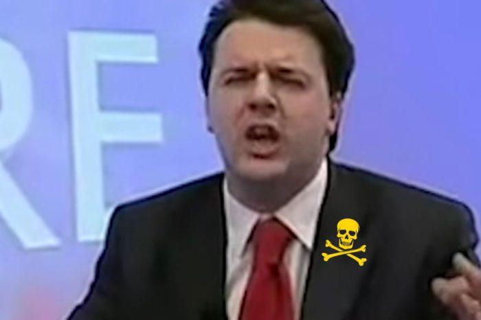Renzi si erge a paladino della salute, ma sentite cosa diceva sugli inceneritori