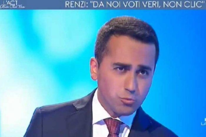 Primarie Pd, Di Maio: 'Renzi si presenta solo alle elezioni che sa di vincere'