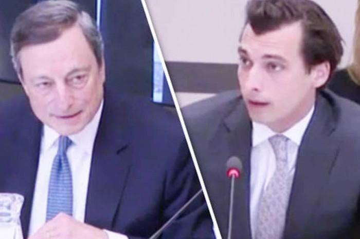 Un deputato olandese sbugiarda Mario Draghi sulle conseguenze dell'uscita dall'euro