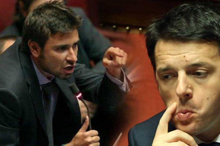 Di Battista: 'Pizzolante ha confessato che Renzi chiese di buttare giù Gentiloni. È un reato?'