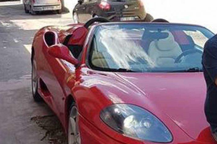Disoccupato e con reddito zero, ma in garage aveva la Ferrari nuova di zecca: arrestato