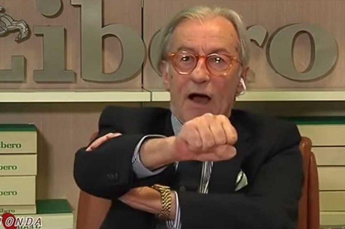 Vittorio Feltri: 'M5S? Chi li vota ne ha piene le scatole e vi manda a fare in culo. Non mi invitate più, mi sono rotto i coglioni'