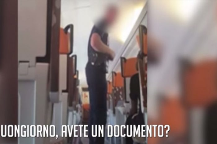 Il video dei migranti minorenni respinti e caricati sui treni per l'Italia