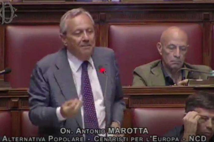 Vitalizi, Marotta (Ap): 'Non si tocchino i diritti acquisiti: ci abbiamo costruito il futuro della famiglia'