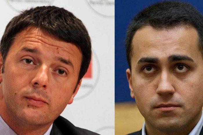 Renzi, Di Maio: 'Pugno di ferro? Faccia di bronzo!'
