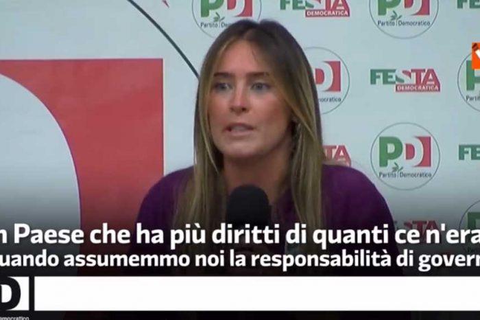 Questa è bellissima! La Boschi: 'Consegneremo agli italiani un Paese che ha più diritti di quanti ce n'erano prima'
