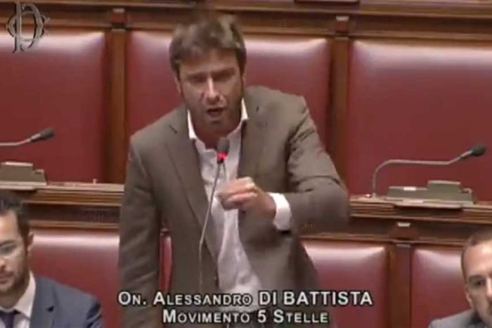 'L'Italia intera deve sapere', la rabbia di Di Battista in aula contro Lotti e Malagò