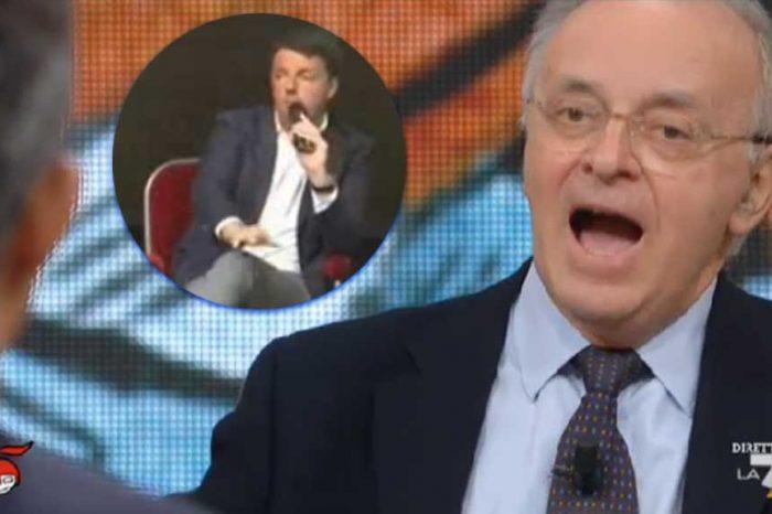 Di Martedì, Davigo risponde a Renzi: 'Se faccio paura è perché le leggi fanno paura'