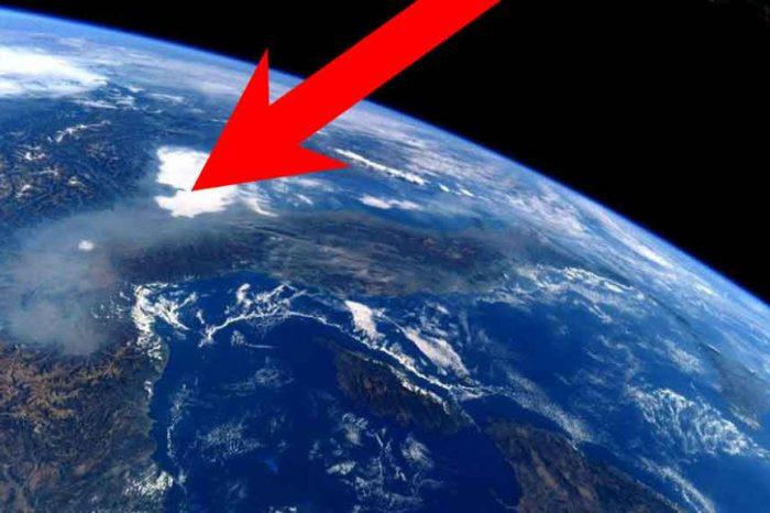 Cappa di smog sulla Pianura Padana, la foto dallo spazio dell'astronauta Nespoli
