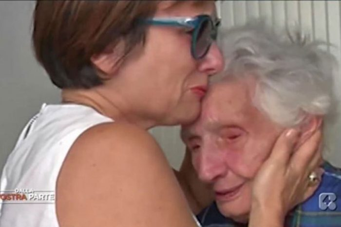Nonna Peppina, la figlia: 'Non mangia, rischia la morte'