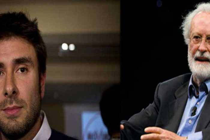 Di Battista: 'Scalfari il Napolitano dei giornalisti, sempre dalla parte dei potenti'