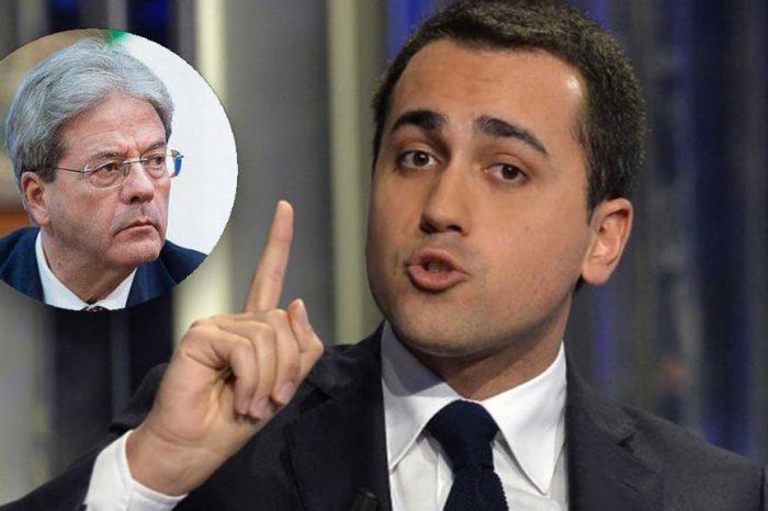 Di Maio chiede le dimissioni di Gentiloni. Sei d'accordo? Sì o No?