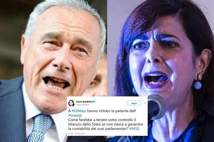 Cara Boldrini, la togliamo anche a Pietro Grasso la 'patente dell'onestà'?