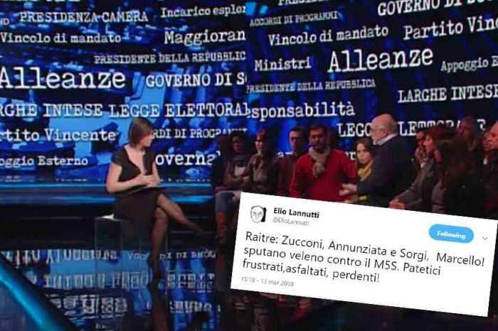 Cartabianca, Elio Lannutti: 'Sputano veleno contro il M5S'