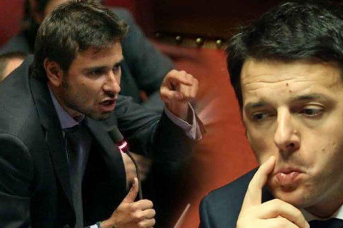 Di Battista: 'Renzi pur di non dimettersi frantuma il Pd'