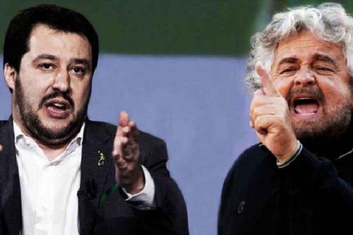 Beppe Grillo contro Salvini: 'Lo manderei a calci a lavorare al Viminale'