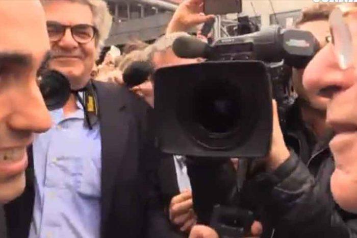 Di Maio incontra Giovanni Rana a Vinitaly: 'Tortellini con Berlusconi? Avariati'