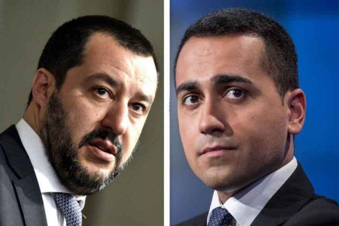 Staffetta Di Maio-Salvini: fuoco di odio contro