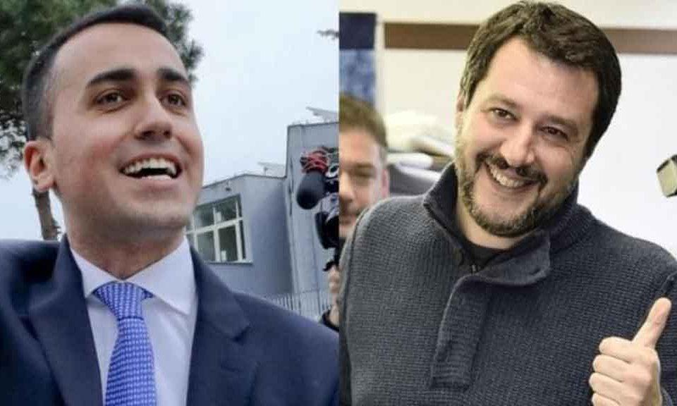 incontro-tra-Di-Maio-e-Salvini-alla-Camera