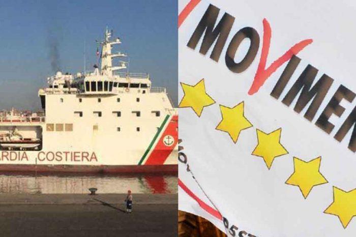 M5S: '625mila migranti sbarcati in Italia negli ultimi 4 anni. Dov'è l'Europa?'