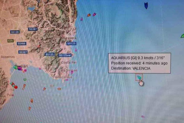 Aquarius cambia rotta: usa Sardegna come 'scudo' da maltempo