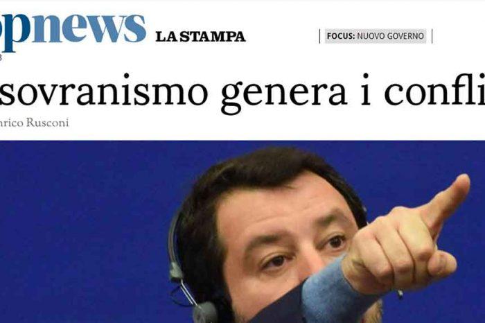 Il sovranismo genera i conflitti: il tifo dei giornali italiani per i francesi
