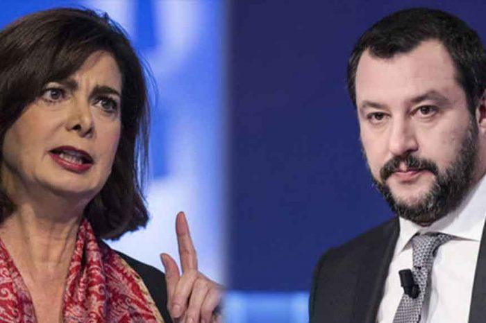 Boldrini: 'Salvini è disperato, cerca di distrarre l'opinione pubblica dai problemi reali'