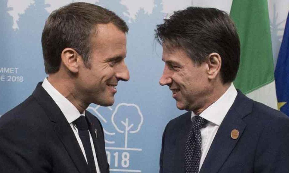 Telefonata-tra-Macron-e-Conte
